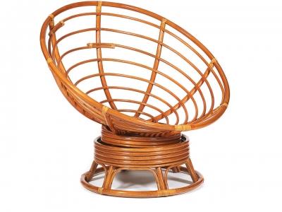 Кресло-качалка Papasan W23/01b без подушки Коньяк