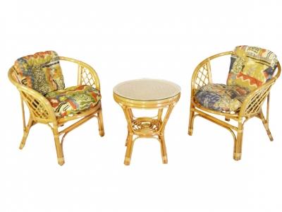 Комплект Багама Дуэт мед подушки цветные