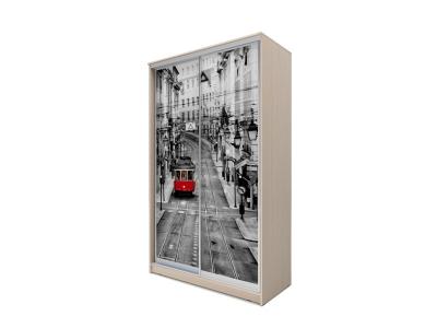 Шкаф-купе Хит 2-х дверный Лондон Дуб млечный