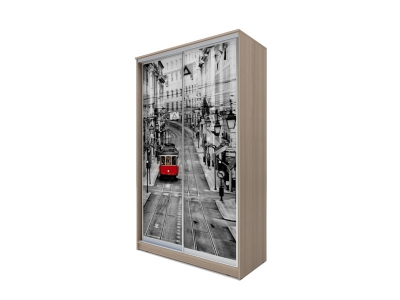 Шкаф-купе Хит 2-х дверный Лондон Ясень шимо светлый