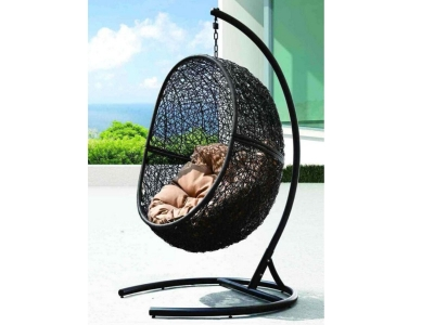 Кресло подвесное Lunar Black