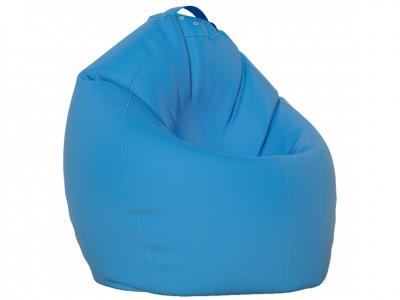 Кресло-мешок XL нейлон голубой